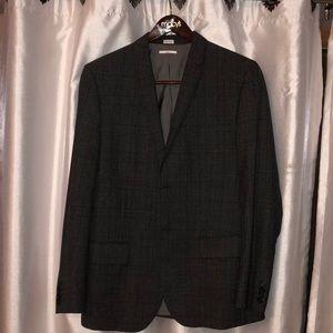 Calvin Klein Slim Fit Grey Men's Blazer Size L.
